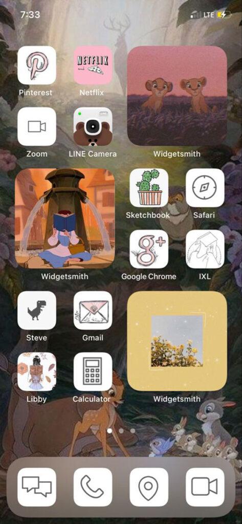 Disney iOS Ana Ekran Önerisi