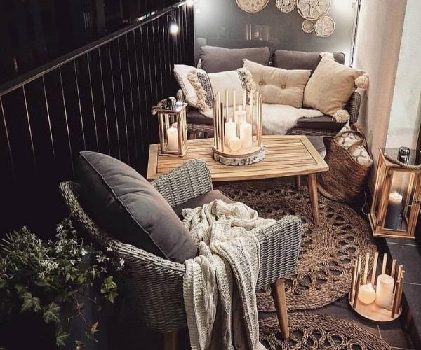 Evde Mum Dekorasyonu Dış Mekan Önerileri