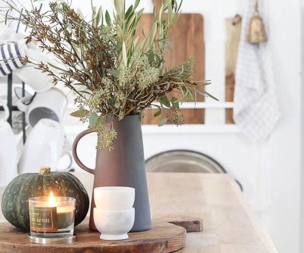 Evde Mum Dekorasyonu Mutfak Önerileri