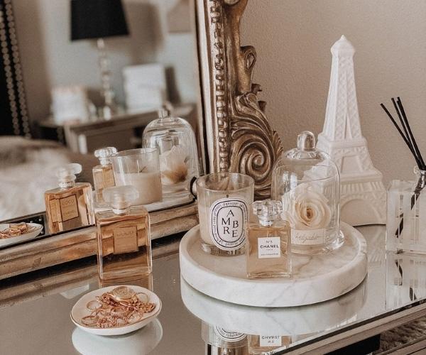 Evde Mum Dekorasyonu Yatak Odası Önerileri