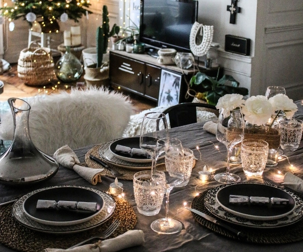 Evde Mum Dekorasyonu Yemek Odası Önerileri
