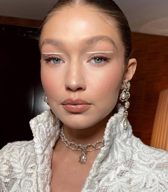 Sonbahar Kış Makyaj Trendi Beyaz Eyeliner