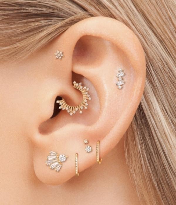 En Popüler Kulak Piercing İsimleri: Tragus, Helix, Conch Piercing...