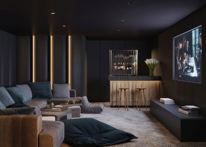 Evde Sinema Keyfi: Sinema Odası Dekorasyonuna Dair İpuçları